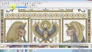 Pattern Maker v4 Pro - практическое применение Проекта схемы для вышивки часть 1