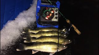 EARLY Walleye Ice Fishing! (Limited Out!)