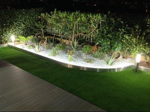 Tuto Comment Poser Une Bordure De Jardin Aluminium Avec Eclairage Led Integre Apanages