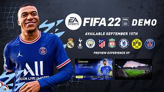 WHERE IS THE FIFA 22 DEMO?!