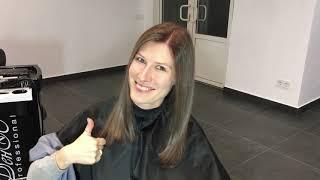Airtouch технику окрашивания волос сделаем для выхода из хны
