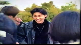 THE PINHEADS with izumi 1996.2.18 城天 その① 大阪城ストリート なん...