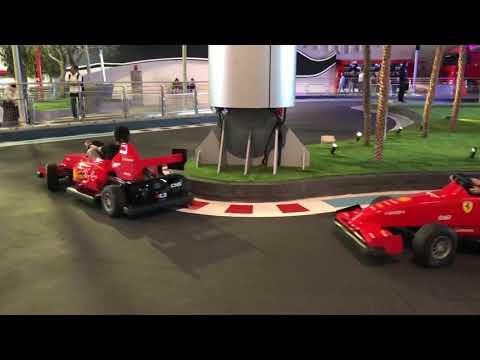 Kabir Maru Ferrari world Dubai 2019-6