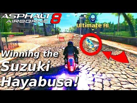 CLOSE FIRST TRY!! Winning the Suzuki Hayabusa R&D + MP test coming soon!