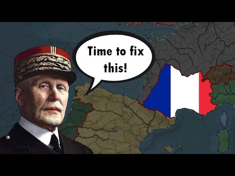 Petain retakes France (Darkest Hour A Hearts of Iron Game) |