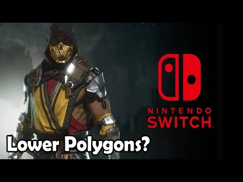 Mortal Kombat  Will Have Reduced Geometry on Nintendo Switch