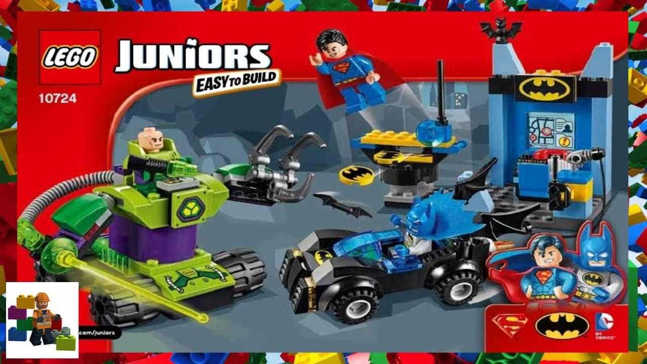 Lego Instructions Juniors 10724 Batman Superman Vs Lex