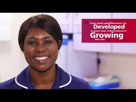 Frimley Health Recruitment Film - Kiosk version