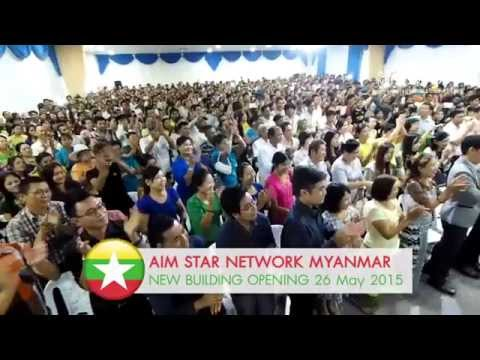 Aim Star Network Myanmar; New Building Opening (Official)