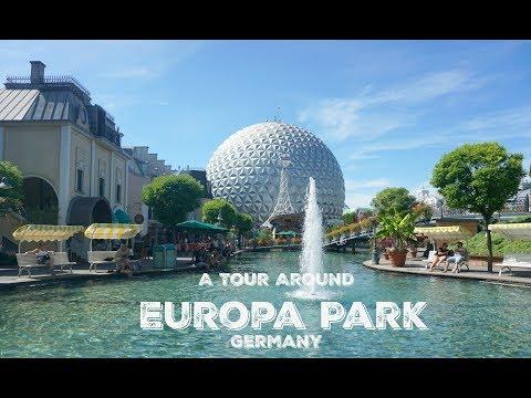 A tour around Europa Park Germany