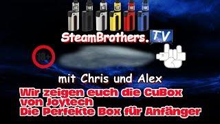 Joyetech CuBox Akkuträger mit inkludiertem Cubis 2 Verdampfer