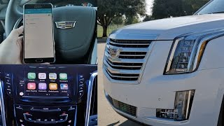 2016 cadillac escalade top 5 favorite features carplay 4g lte