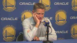 Kerr: Success of Warriors has changed crowd at Oracle