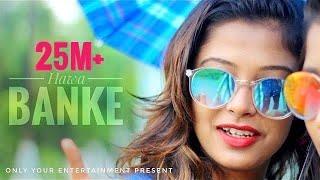 Hawa Banke   Darshan Raval    Cute love Story   new hindi song 2019   cover Hrittick & Ariyoshi