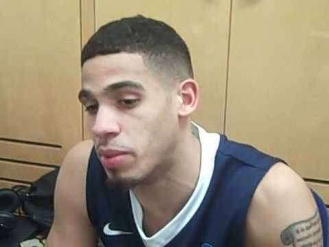 Talor Battle postgame interview