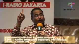Live I Radio bersama Menteri Pariwisata Republik Indonesia, Arief Yahya
