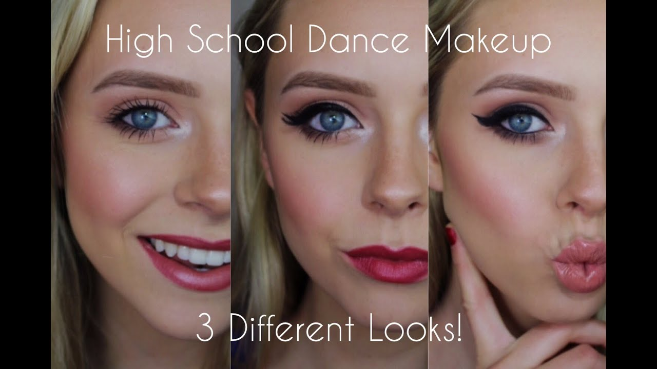 High School Dance Makeup Three Different Looks Cosmobyhaley
