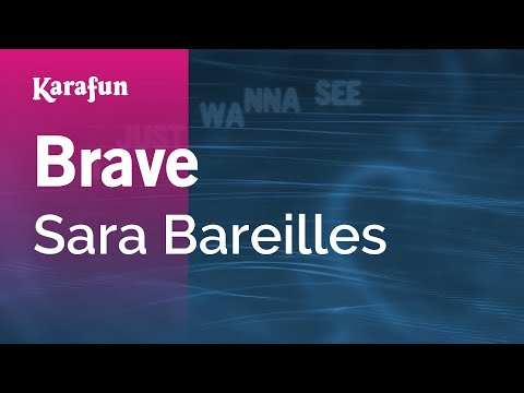 Karaoke Brave - Sara Bareilles *
