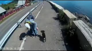 Листвянка - Большие Коты на велосипеде.