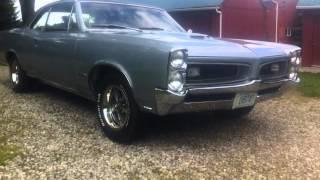 1966 Pontiac Gto Barn Find Restoration