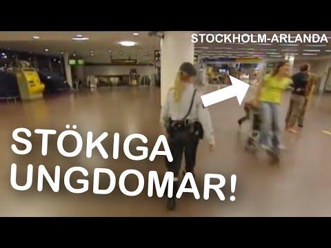 Stockholm-Arlanda avsnitt 6 S2   Stökiga ungdomar