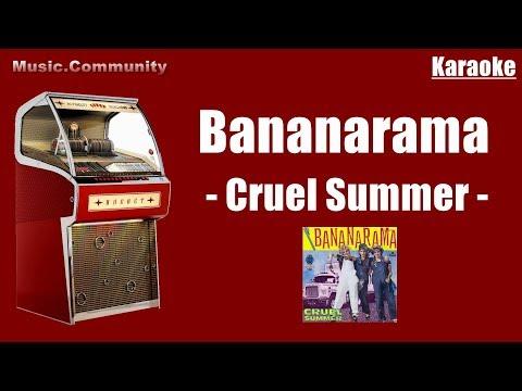 Karaoke - Bananarama - Cruel Summer