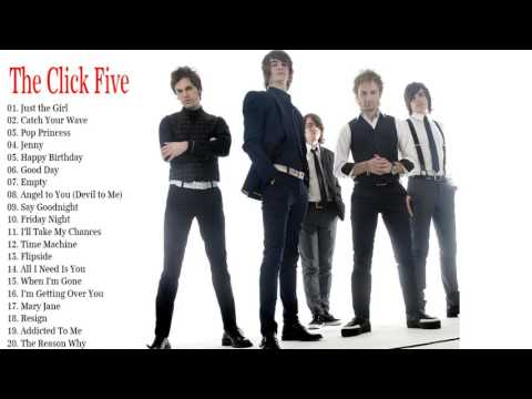 The Very Best of  The Click Five 2017 (Full Album)