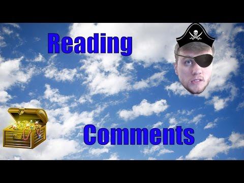 Reading Comments! - Hidden Treasure!