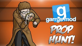 GMod Prop Hunt! - Banana Room, Officer Marcel, Mistakes Were Made! (Garrys Mod Funny Moments)