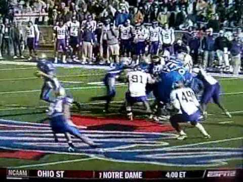 East Carolina University vs Tulsa University Conference USA Championship 2008