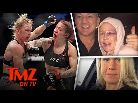Holly Holm Feels Good But Looks Bad After UFC 219 | TMZ TV