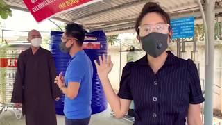 Lắp đặt bàn giao máy lọc nước cho bà con Xã Phú Long, Bình Đại - Bến Tre bị hạn mặn | Lý Hải Minh Hà