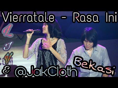 Vierratale - Rasa Ini Live fancam @JakCloth Bekasi 3 September 2017