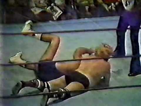 Bob & Brad Armstrong vs Tor Kamata & Ray Stevens -  Georgia Championship Wrestling (Columbus, GA)