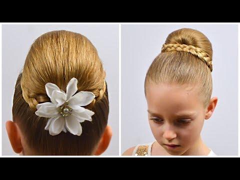 3-min-high-bun-hairstyle-(chignon)-|-cute-holiday-hairstyles-for-long-hair-|-littlegirlhair