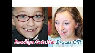 Brooklyn Gets Her Braces Off!