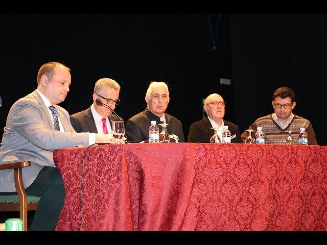 VÍDEO: El Palacio Erisana acogió la presentación del libro biográfico sobre Curro Lucena
