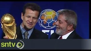 Carlos Dunga appointed Brazil coach for second time