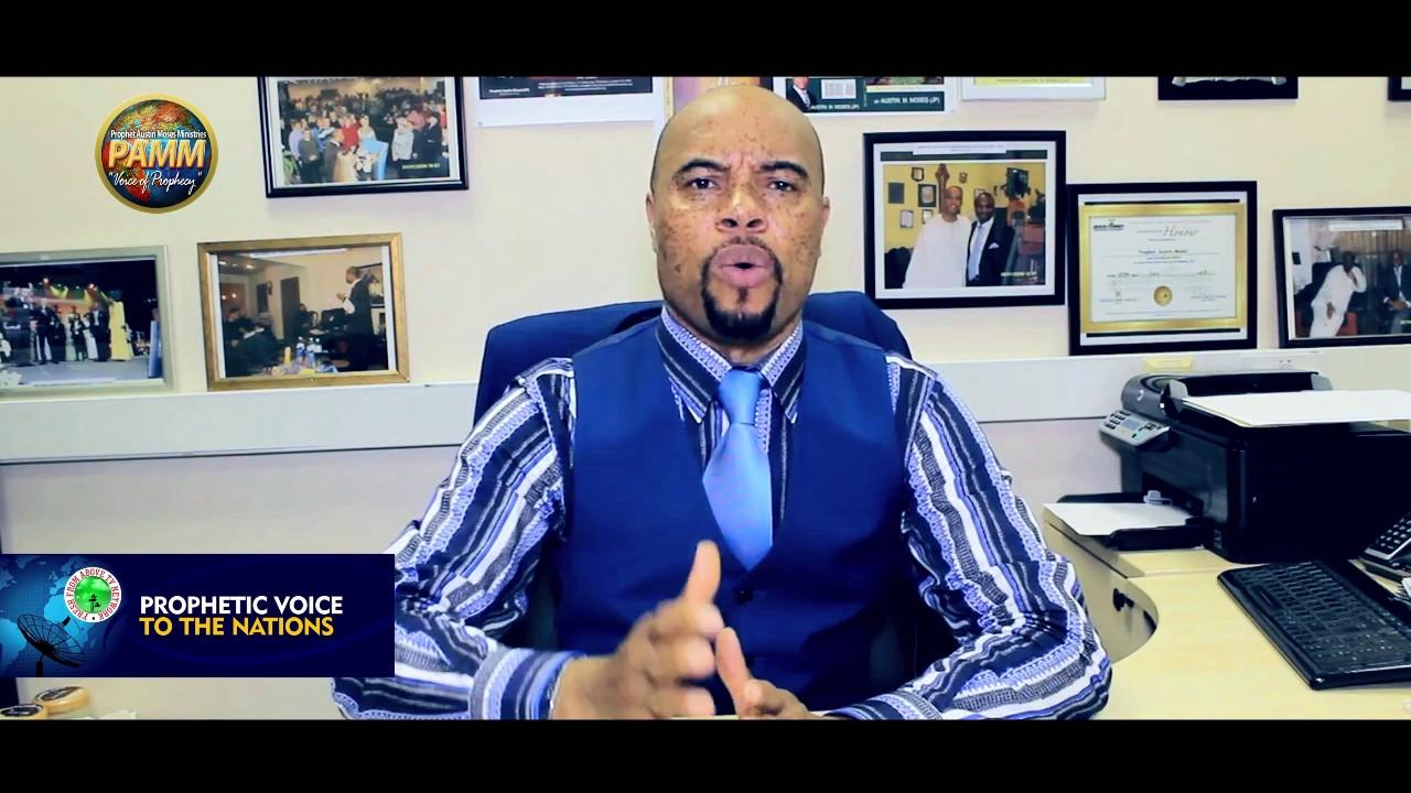 Prophet Austin Moses Prophecy For President Muhammadu Buhari [JUNE 2017]