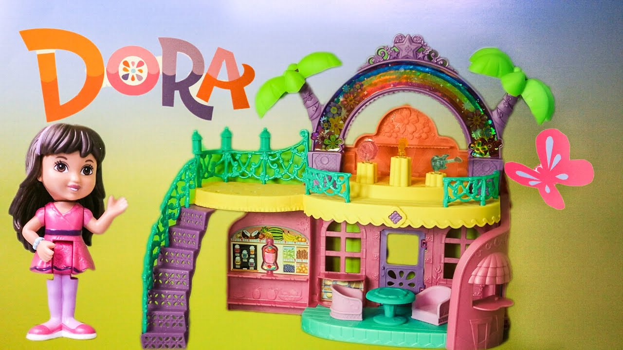 All Dora Toys : Dora ther explorer nickelodeon and friends cafe arco