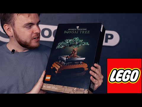 LEGO® Bonsaitræ (10281) Unboxing 🌳 Morten Speedrunner Verdens Flotteste LEGO® Sæt