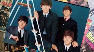 ♫ The Beatles in Jean Marie Périer studio, Paris, 1964