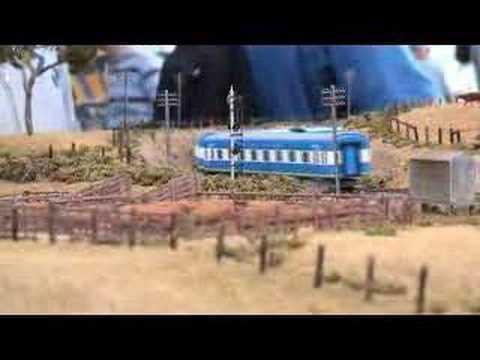 Murranbilla  Part 1 Box Hill exhibition 2004  Australian Model Railway Layout