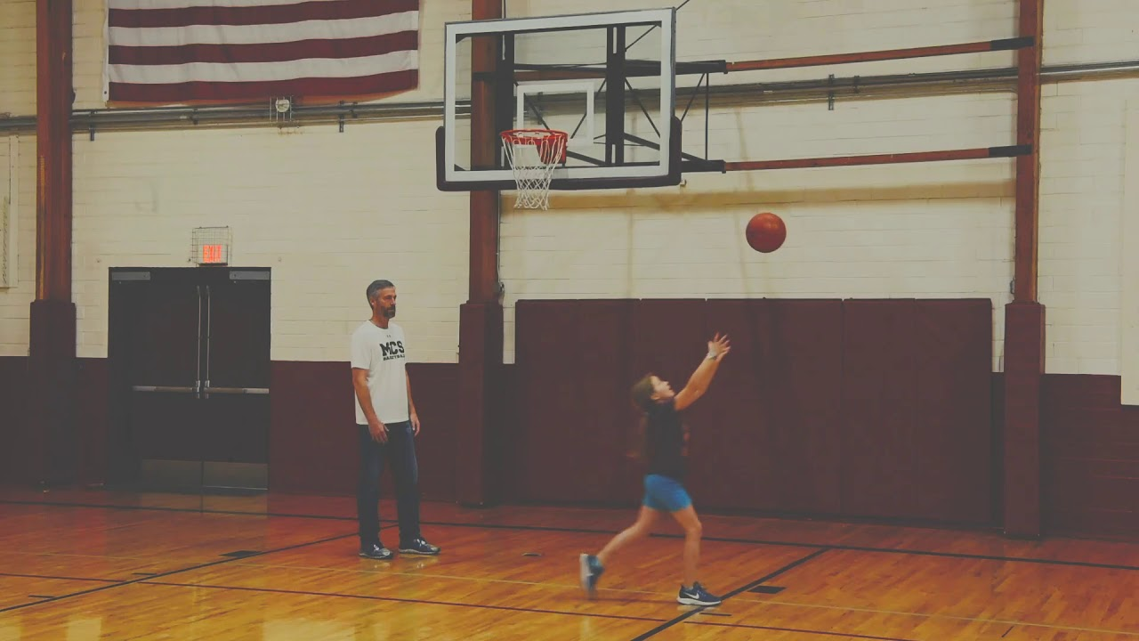 Father Daughter Basketball Moment