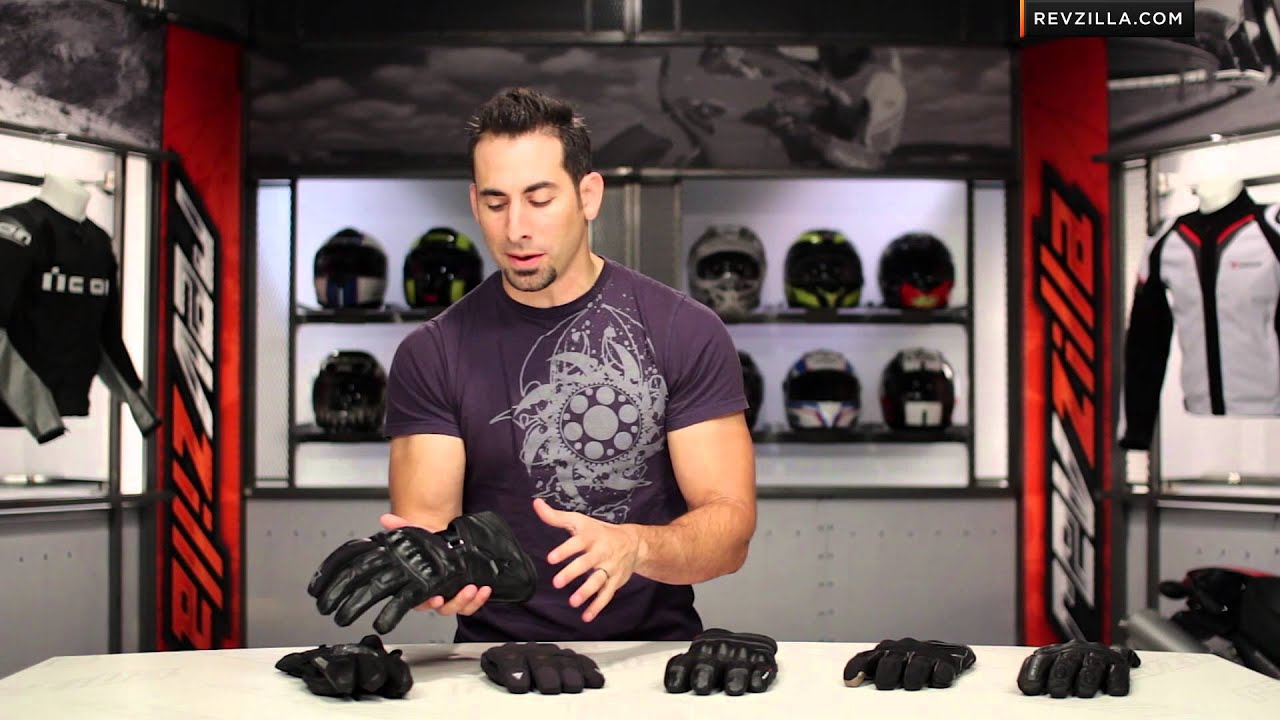 Motorcycle gloves guide - Fall 2013 Waterproof Motorcycle Gloves Buying Guide At Revzillla Com Youtube