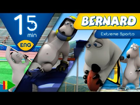Bernard Bear | Extreme Sports | 15 minutes