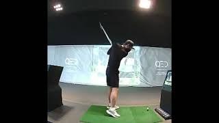 골프 7번 아이언 스윙 변화 영상