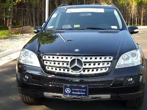 2008 mercedes benz ml350 black at mercedes benz of for Mercedes benz of chantilly