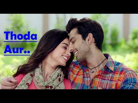 Thoda Aur Ranchi Diaries Lyrics (Full Song) Arijit Singh - Palak Muchhal - Soundarya S - Himansh