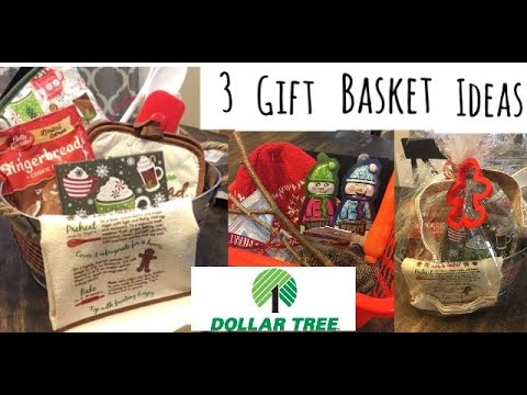 3 Dollartree Gift Basket Ideas For Under $8!!!